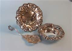 GROUPING  OF STERLING SILVER ITEMS