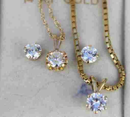ESTATE DIAMOND JEWELRY GROUPING