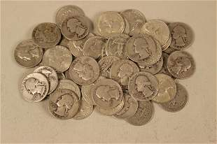 46- Silver Washington Quarters
