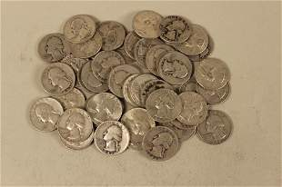 46 - Assorted Silver Quarters