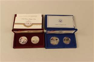 2 -  U.S. Commemorative  Sets