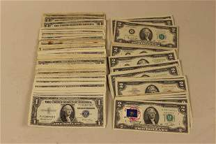 U.S. Currency Lot $185 Face