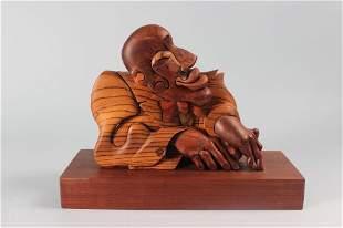 """Igor Givotovsky, """"Jazz Man"""" Poly-graph Sculpture"""