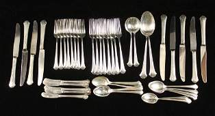 Towle Sterling Silver Flatware Set 47 pieces
