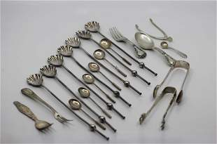 Grouping of Silver Items