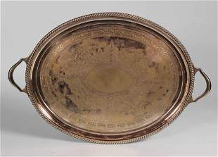 Sheffield Silver Plated Tray