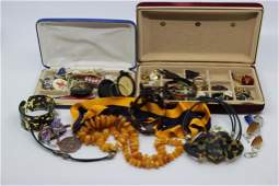 Grouping of Estate Costume Jewelry