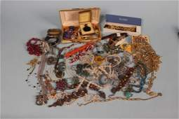 Large lot of Estate Costume Jewelry