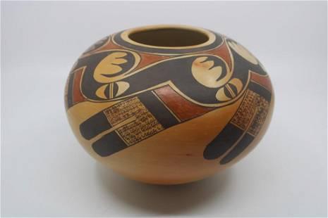 Priscilla Namingha Nampeyo Hopi Bowl