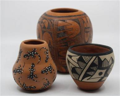 Collection of Mixed Native American Pottery