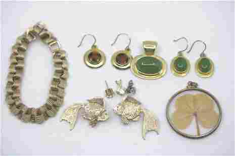 Grouping of Estate 10K Gold Jewelry