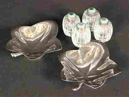Tiffany Sterling Silver Nut Dishes