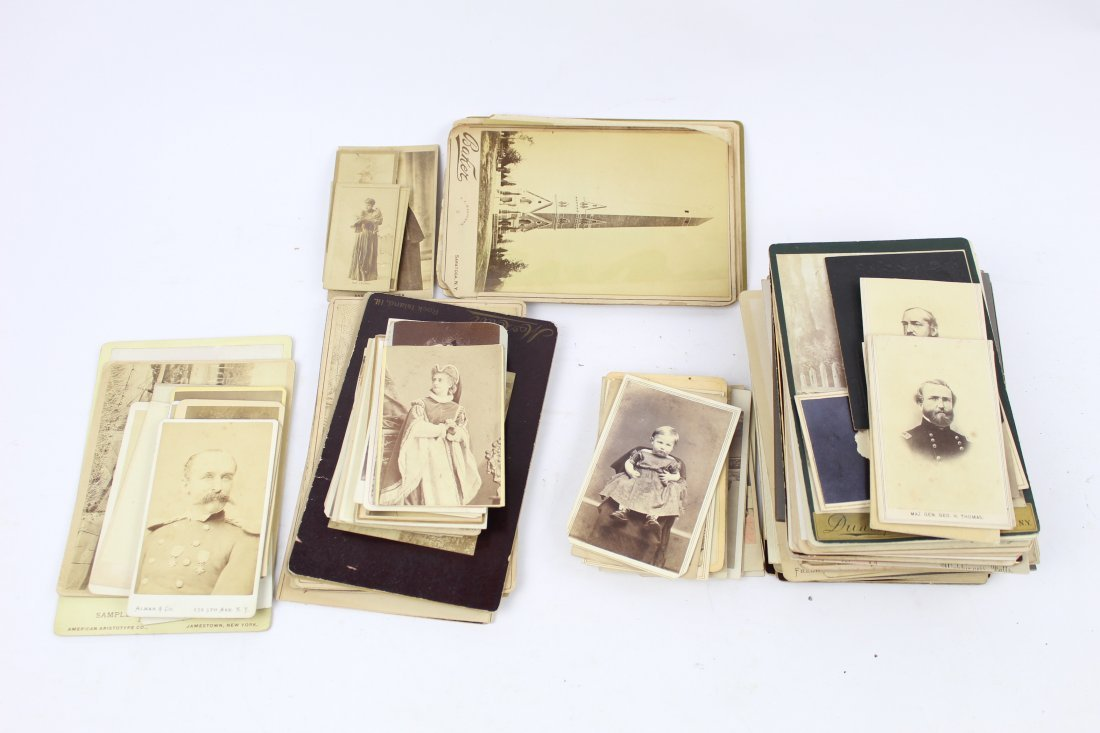 Great Lot of Cabinet Card & CDV Photos