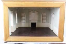 Amazing Dollhouse Sized Rococo Room Architectural Model