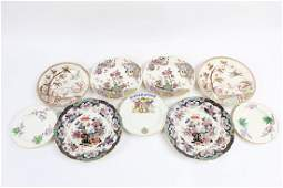 Lot of 9 Misc Plates