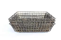 Lot of 3 Industrial Metal Wire BasketsLobster Fishing
