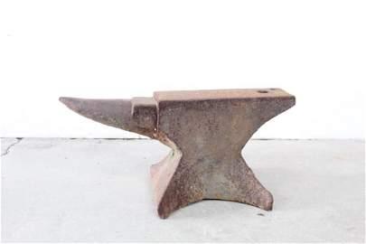 Industrial Antique Blacksmith Cast Iron Anvil Rustic