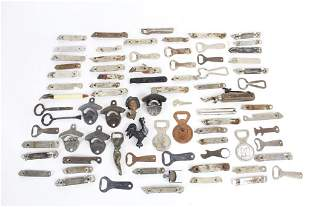 Antique Cast Iron Beer Bottle Opener Collection