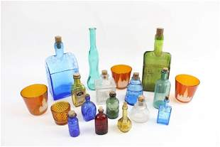 Lot of Assorted Antique and Contemporary Glass