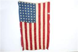 Antique Patriotic 48 Star American Flag