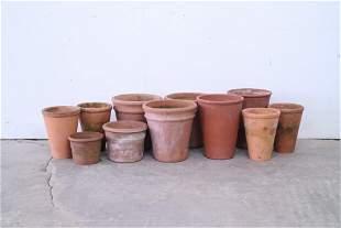 10 Terra Cotta Outdoor/Indoor Garden Planter Pots,Plant