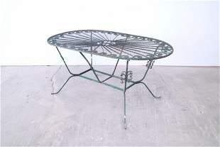 Mid-Century Modern Outdoor Patio Table,Salterini Style