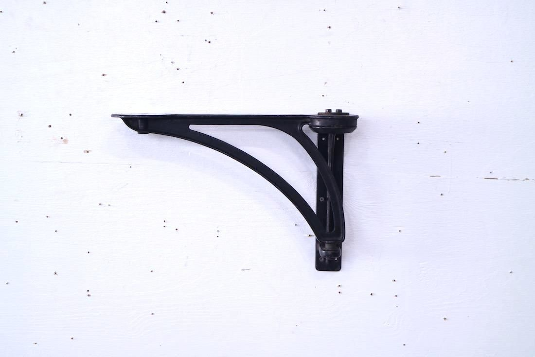 Antique Metal Bracket for Wall Mounted Stool,Industrial