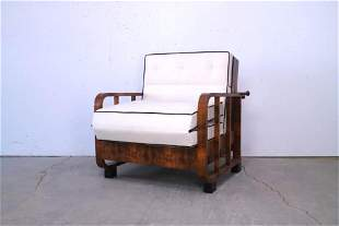 Art Deco Morris Style Reclining Chair Daybed