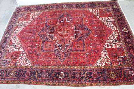 Very Large Persian Oriental Rug w/ Fringe,Made in Iran