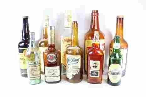 Lot 10 Oversized Store Display Liquor Bottles,3of3