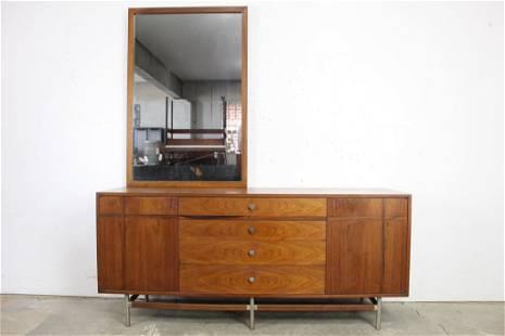 Mid-Century Modern Kroehler Dresser/Credenza w/ Mirror