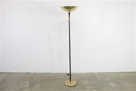 Mid-Century Modern Thurston Style Brass Floor Lamp