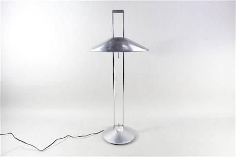 Space Age Modern Adjustable Chrome Table Desk Lamp