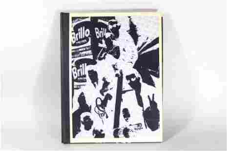 Andy Warhol's Pop Up Art Index Book, 1967 1st Printing