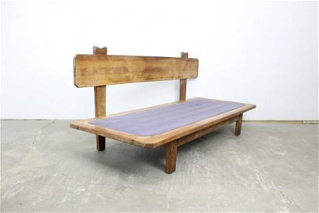 Mid Century Modern Nakashima Style Daybed Platform