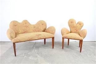 Loveseat & Chair by Joaquin Gasgonia,Balaico Arete-Ugma