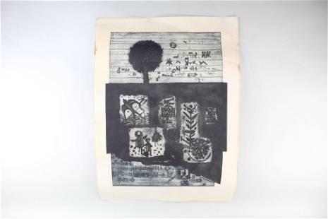 Emilie Tomanova Signed Numbered Etching Print w/Catalog