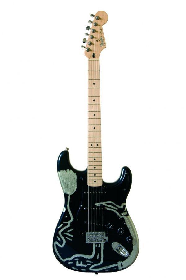 3: Anton Corbijn -Fender® Stratocaster® with painting