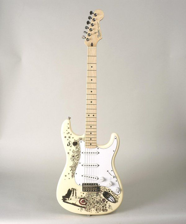 Bono -Stratocaster® featuring images by Bono