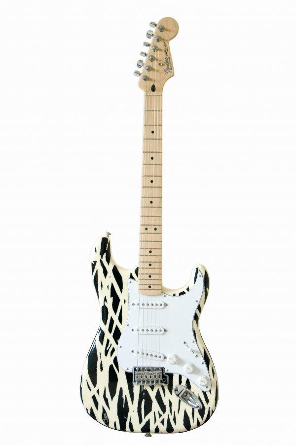 8: Diane von Furstenberg  Custom Fender® Strat