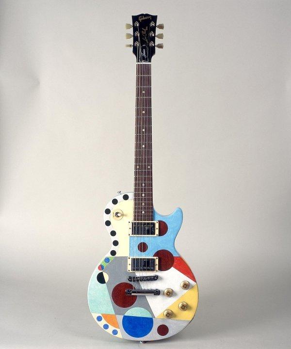 13: Harvey Daniels - Gibson Les Paul ft painting