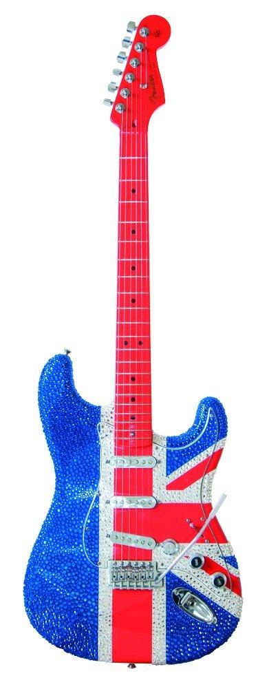 14: Hedi Slimane - Fender® Strat® w Swarovski crystals