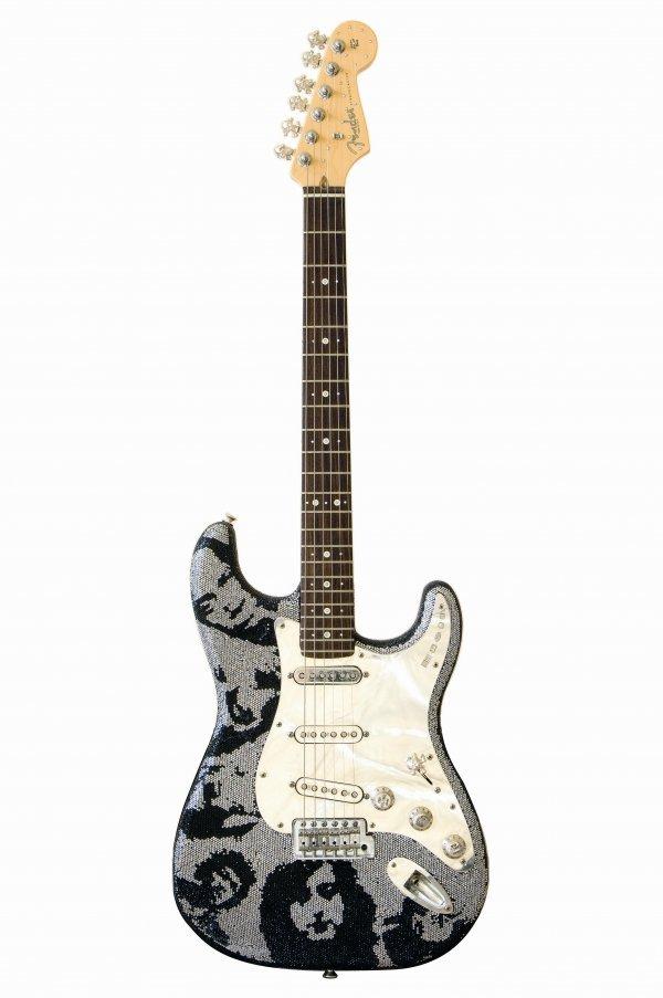 17: Johnny Rocket - Fender® Strat®, with diamonds, gold