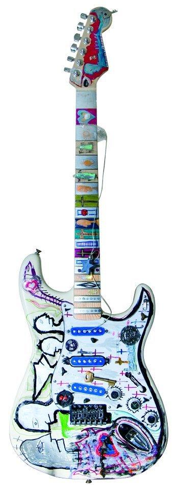 18: Joseph Arthur - hand painted Fender® Stratocaster®