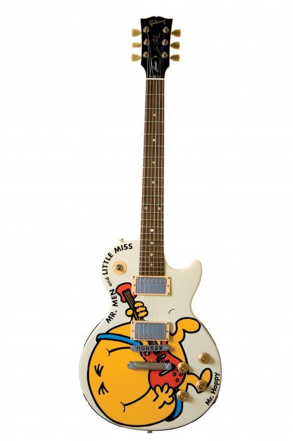 20B: Adam Hargreaves - Mr. Happy  Gibson Les Paul