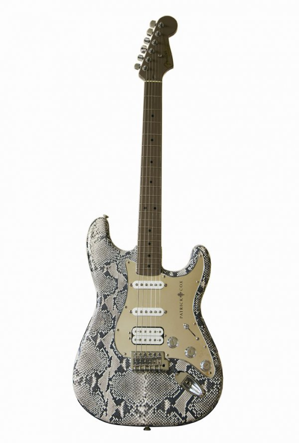 23: Patrick Cox - Stratocaster® wrapped in python skin