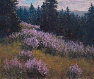 Lorenzo Chavez, Wyoming Lupin in Bloom