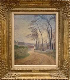 Gustave Loiseau, Original oil on canvas