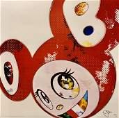 "Takashi Murakami, ""And Then x 727""  signed lithograph"