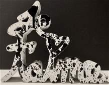 Mr. Brainwash - Acrylic on Cast Resin Sculpture